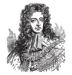 William iii vintage vector