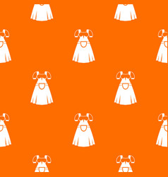 traditional bavarian dress pattern seamless vector image vector image