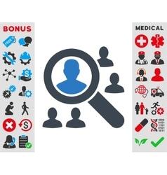 Explore Patients Icon vector
