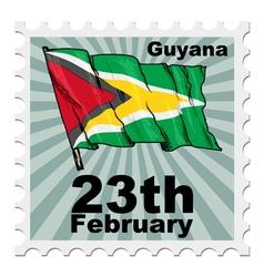 National day of Guyana vector
