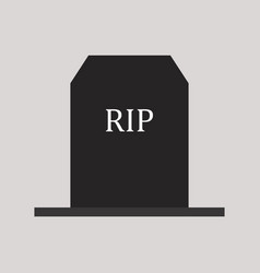 Tombstone icon vector