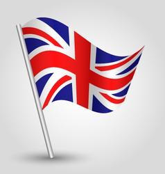 flag uk vector image vector image