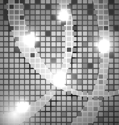 Abstract background - metal club mosaic vector image