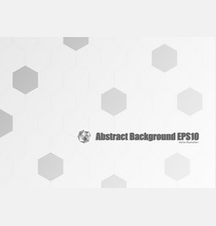 Abstract gray geometric background vector