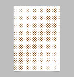 abstract halftone dot pattern background brochure vector image