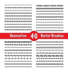 Brush Set vector image