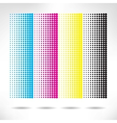 Design set of vertical modern backgrounds vector image