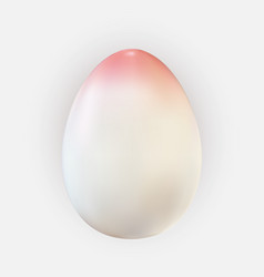 easter egg design element on light background vector image
