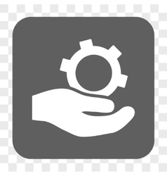 Engineering Service Rounded Square Button vector