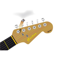Headstock cigarette vector