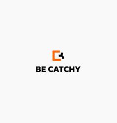 Letter b c logo design vector