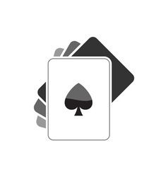 poker-cards vector image