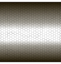 Seamless white and black pentagon background vector image