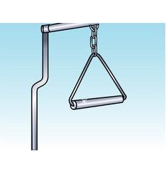 Trapeze bar vector