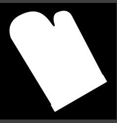 kitchen glove it is icon vector image