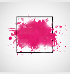 abstract background with paint splashes vector image vector image