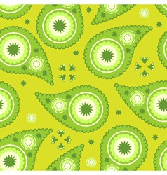 modern paisley pattern vector image vector image
