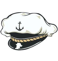 CAPITAN CAP vector
