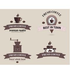 Coffee shop logo logo vector
