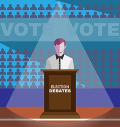 Election Debates vector