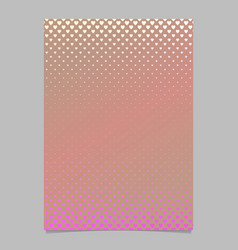 gradient heart pattern page template - brochure vector image