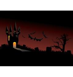 Haunted Castle vector image