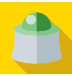 Mask beekeeper icon flat style vector