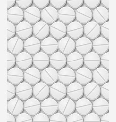 seamless texture of pill for design vector image