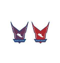 Sport-shoes-logo vector