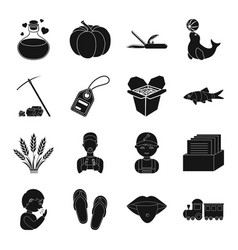 tourism circus delivery and other web icon in vector image