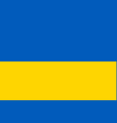 ukraine flag official colors vector image