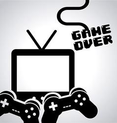Video game design vector