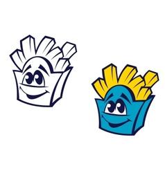 Fast food potato snack vector image vector image