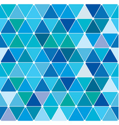 winter triangle pattern 23 vector image