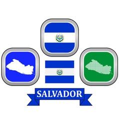 symbol of Salvador vector image vector image