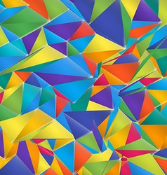 Abstract Polygonal Colorful Background EPS10 vector image