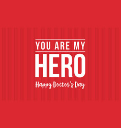 Background design of doctor day collection vector