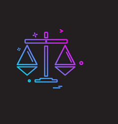 bank icon design vector image