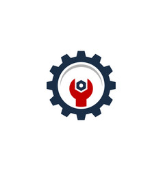 fix automotive logo icon design vector image
