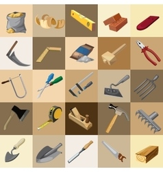 Great set of instruments 25 elements vector