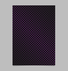 halftone dot pattern page background template vector image