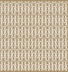 knitted fabric seamless pattern light beige white vector image