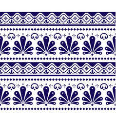mexican seamless pattern inpired vector image