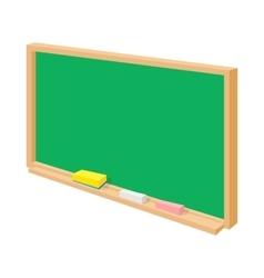 School board icon cartoon style vector image