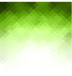 abstract green light template background vector image