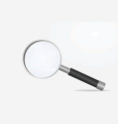 magnifying glass search concept vector image