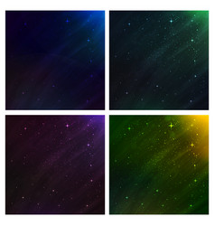 abstract space background background set vector image