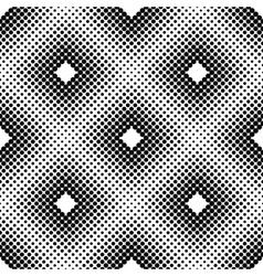 Halftone Square Tiles Seamless Pattern vector