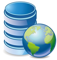 HDD global vector image