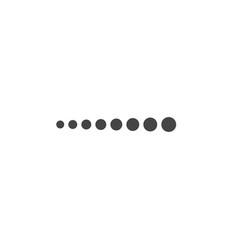 loading bar flat icon vector image